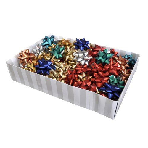 Caja de lazos para regalo