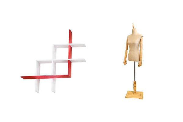 mobiliario comercial minimalista